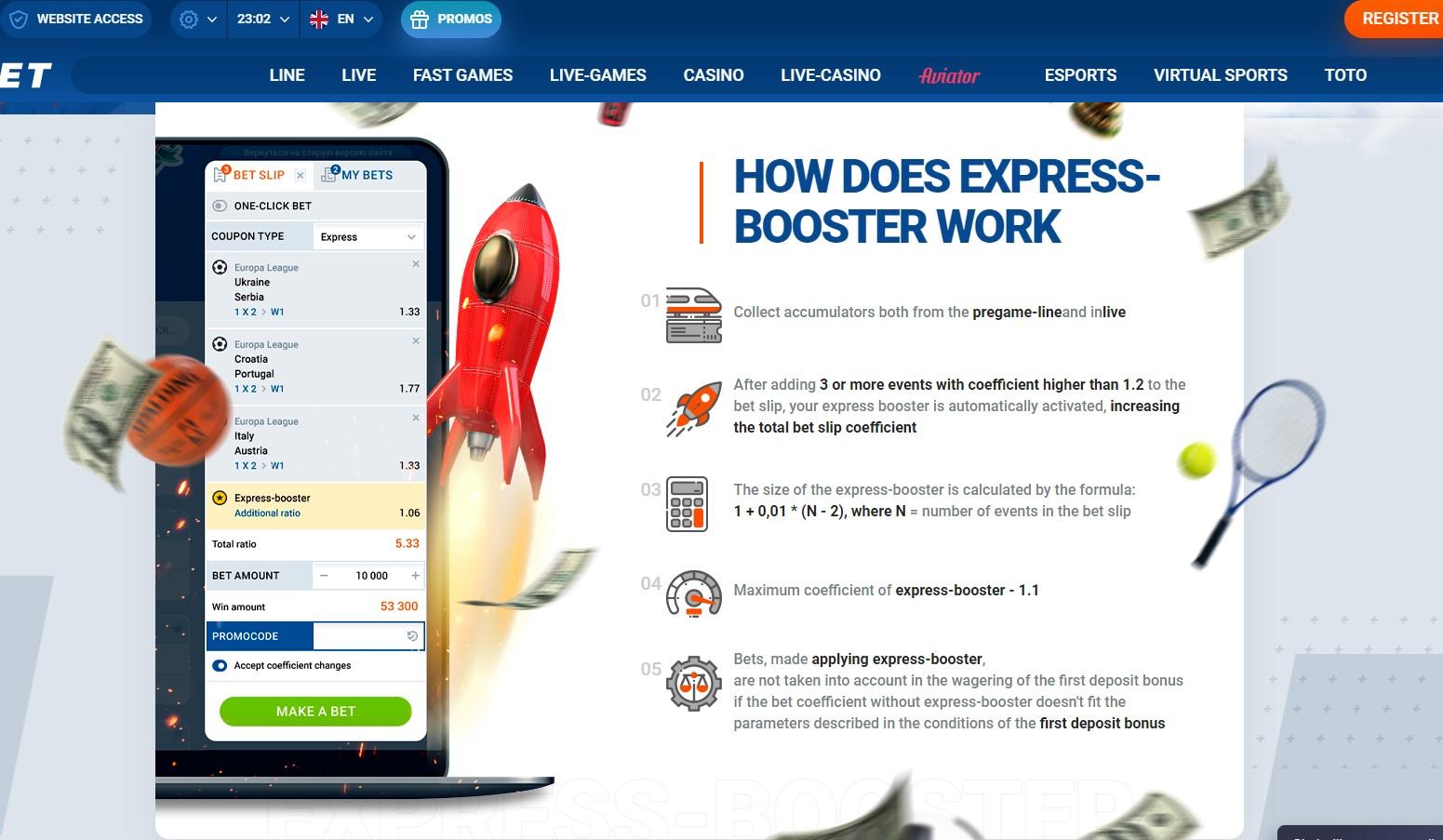 mostbet express