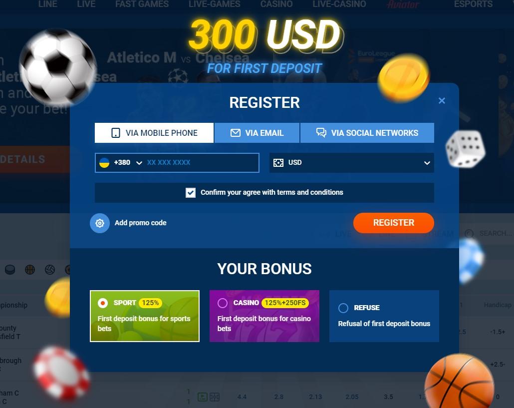 registration and login mostbet
